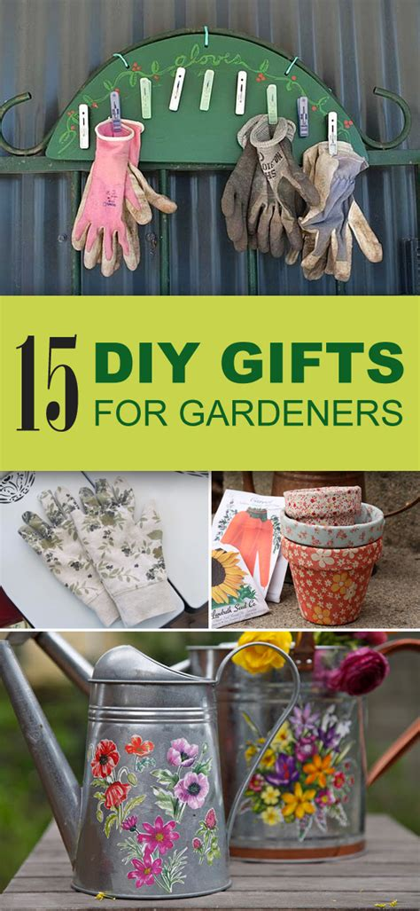 15 Easy Unique Diy Gifts For Gardeners Gardening Gift Ideas For
