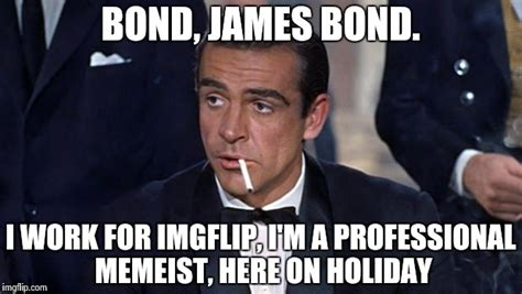 James Bond Meme - bond undercover on holiday imgflip