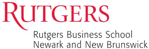 Rutgers Mba Curriculum Strategy by Rutgers Supply Chain Analytics Lab