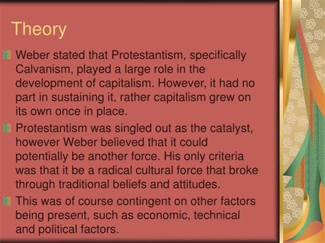 hypercapitalism the modern economy its values and how to change them books ppt weber and the protestant work ethic powerpoint
