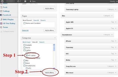 wordpress tutorial add menu page how to create dynamic drop down submenus in wordpress