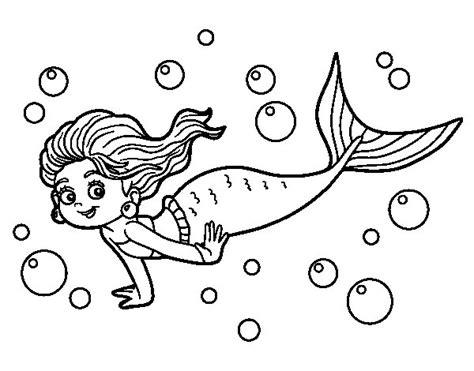 pinto dibujos dibujos para colorear del da de las madres dibujo de sirena del mar para colorear dibujos net
