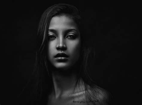 black wallpaper portrait anna flavia women face zachar rise portrait