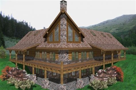 highland ranch timber frame plans 6257sqft streamline