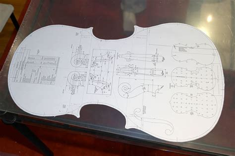 blueprint of a 19th c violin maker s plans 11 x sleeping beauty cello plans the pegbox maestronet forums