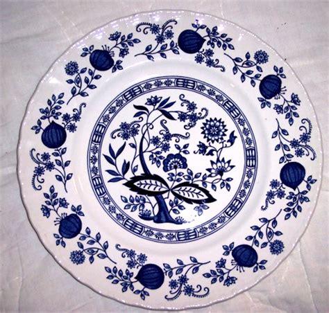 blue onion pattern czech souvenirs