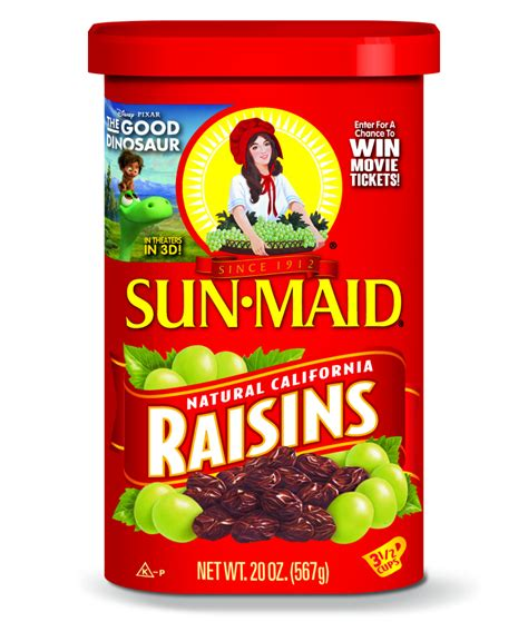 Sun Maid Movie Ticket Giveaway - sun maid raisins and the good dinosaur movie ticket promotion and sweepstakes