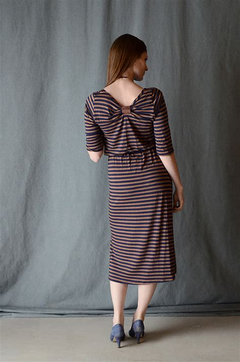 Dress Melisa Bow refashioned non neckline i still you by esplin