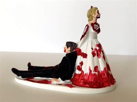 Hochzeitstorte Topper by Wedding Cake Topper Never Dies Wedding
