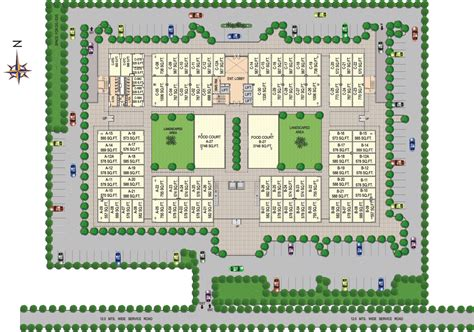 layout plans vipul plaza commercial office retail space sector 81