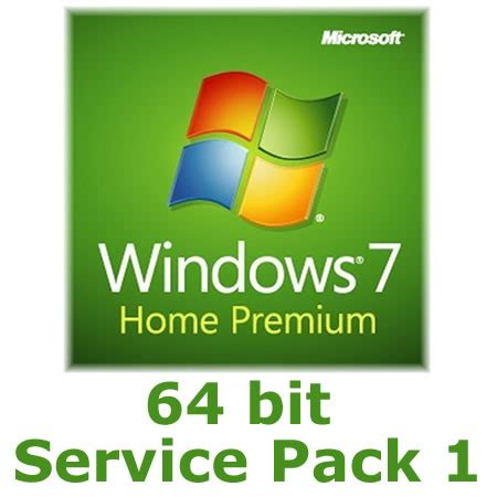 microsoft windows 7 home premium 64 bit sp1