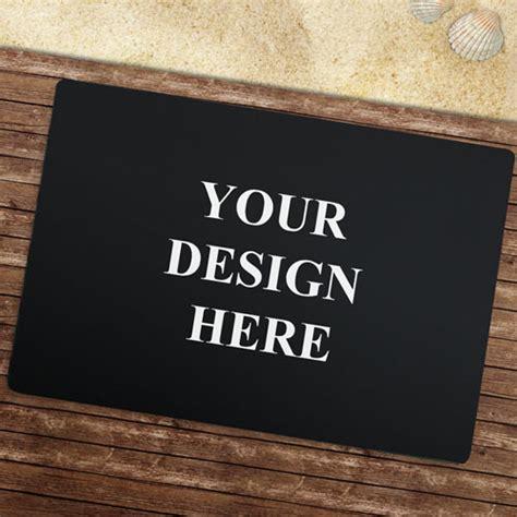 Design Your Own Doormat Custom Imprint Color Doormat For Business Corporate