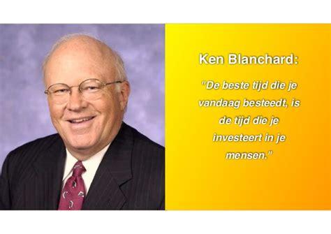 Ken Blanchard Mba by Mba In Een Dag Special 6 November Handout