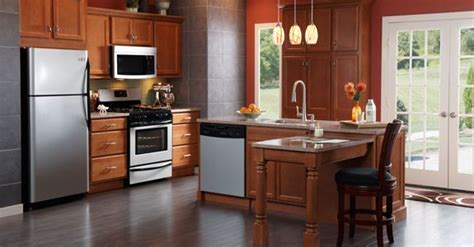 diamond prelude kitchen cabinets diamond prelude lansing maple in toffee kitchen