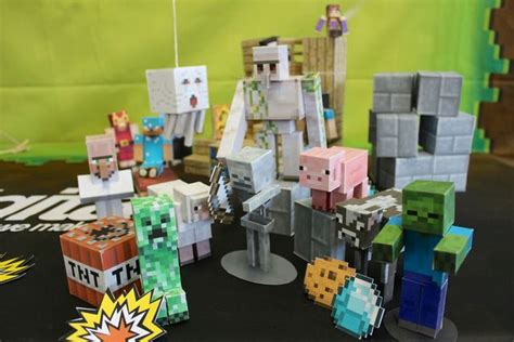 How To Make Paper Minecraft Characters - minecraft papercraft studio an ios app for printing