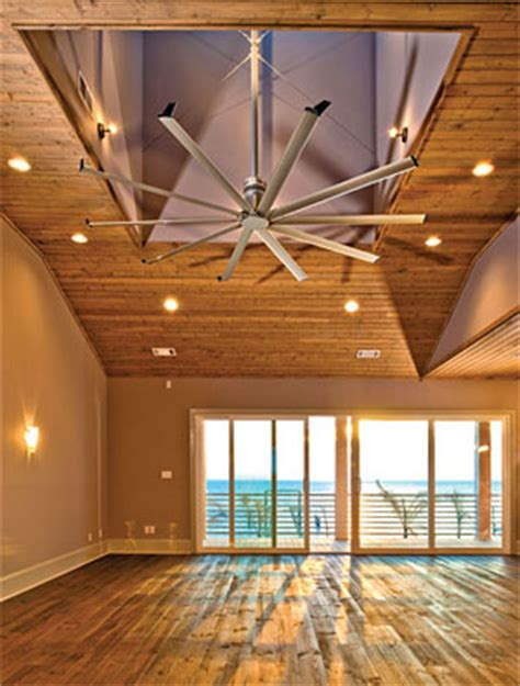 Large Residential Ceiling Fans by Celebrating Green In March With Sustainable Home Designs And Products The House Designers
