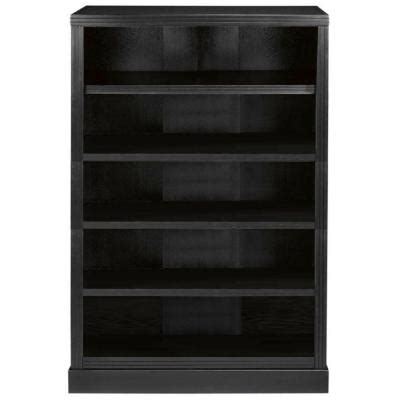 martha stewart living larsson 5 shelf bookshelf in carbon