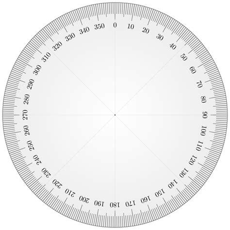 360 degree circle template setting circles 3 iphone 360 176 protractor likely