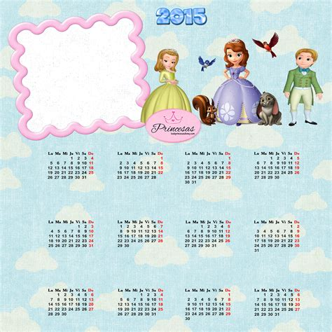 Calendario Disney Calendarios De Las Princesas Imagui