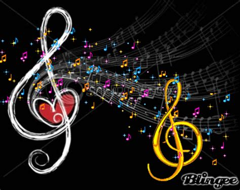 imagenes de melodias musicales notas musicales bellas imagenes pinterest music