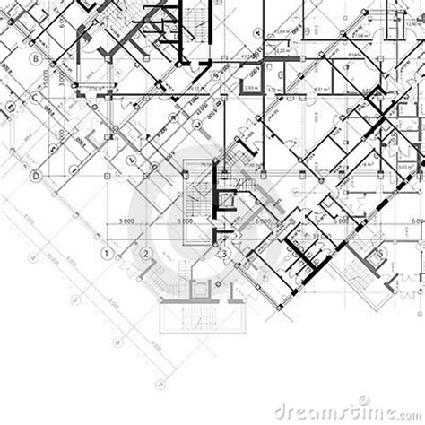 building plans images architectural vector black and white background stock