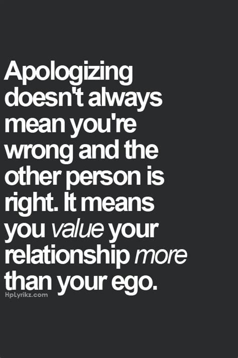 Apology Letter For Wrong Quotation 25 Best Apologizing Quotes On Relationship Quotes Hurt Quotes And No Apologies