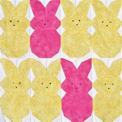 Free Paper Pieced Quilt Patterns by Free Quilt Pattern Peeps Paper Pieced Quilt Pattern