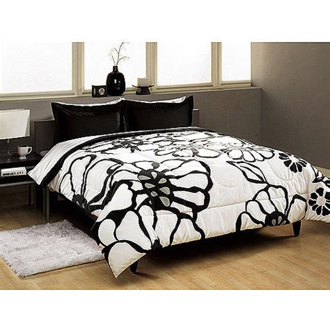 walmart bedding set modern bloom comforter set walmart com