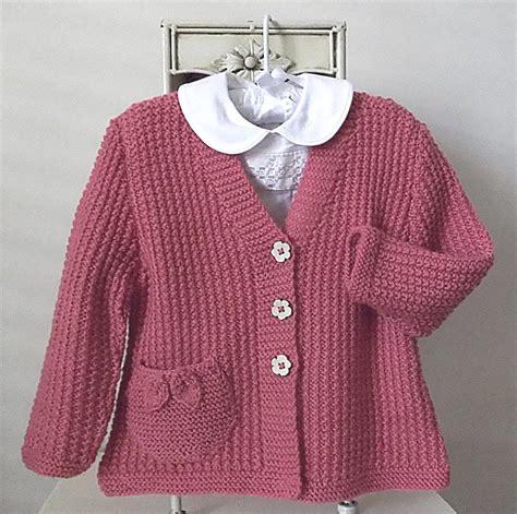 knitting pattern girl cardigan little girls textured v neck cardigan by oge designs craftsy