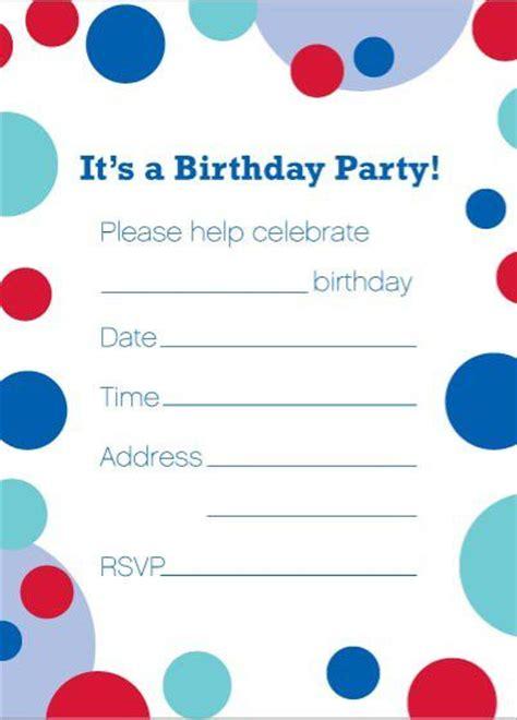 50 free birthday invitation templates you will love