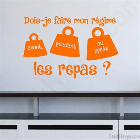 stickers phrase pour cuisine stickhappy com stickers