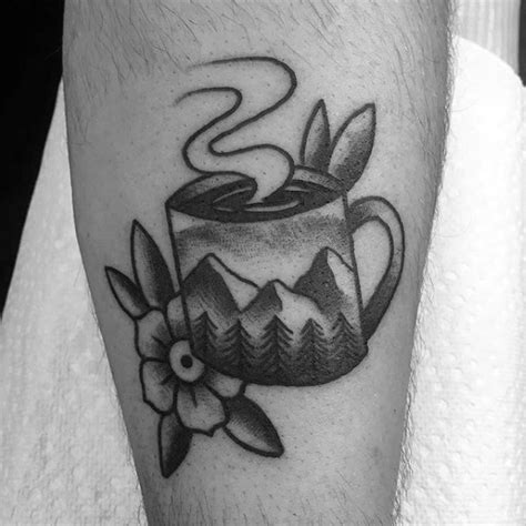coffee mug tattoo 40 coffee cup designs for java ink ideas