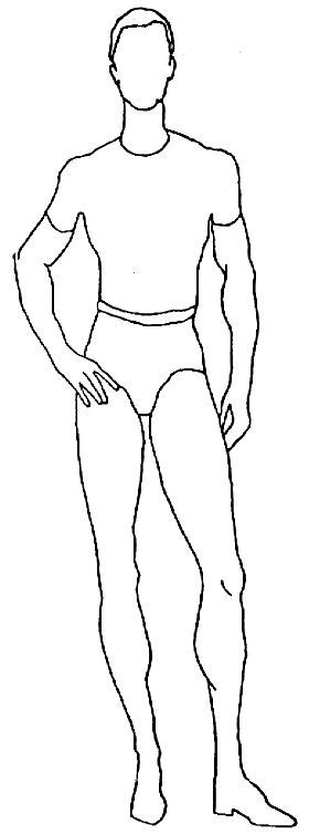 Plus Size Croquis Male Croquis 1 Male Croquis 2 Fashion Croquis Of All Sizes Pinterest Costume Design Template