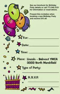 invitation card for birthday invitation ideas