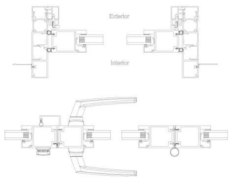 maniglie porte dwg porte pvc dwg free particolari costruttivi dwglab