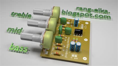 Potensio Stereo Ct 100k merakit rangkaian elektronika 05 rangkaian tone kontrol