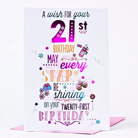 21st Birthday Card Messages 21st Birthday Card Granddaughter Dancing Shoes Only 163 1 49