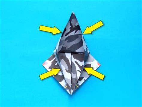 Origami Stunt Plane - joost langeveld origami page