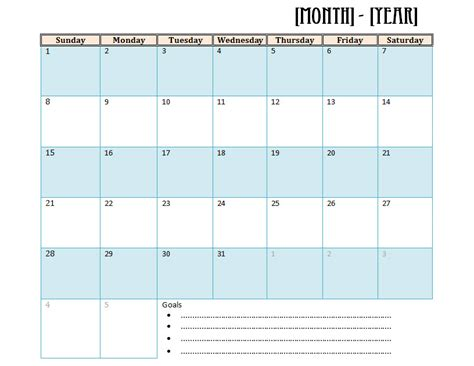 study calendar template microsoft office monthly study schedule templates free