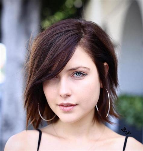 best way to part side swept bangs for oval faces best 25 side part bangs ideas on pinterest bangs