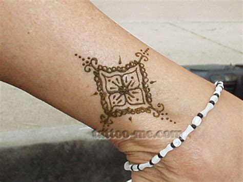 henna tattoo designs anklet ankle henna