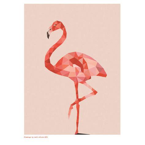 Beach Kitchen Ideas by Geometric Flamingo Art Print Hardtofind