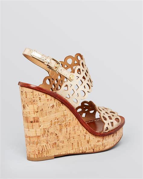 burch platform sandals burch platform wedge sandals nori lyst