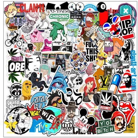 Coole Handy Sticker by Clan11 Art Room Stickerbombing Clan11 June 2014 Pack