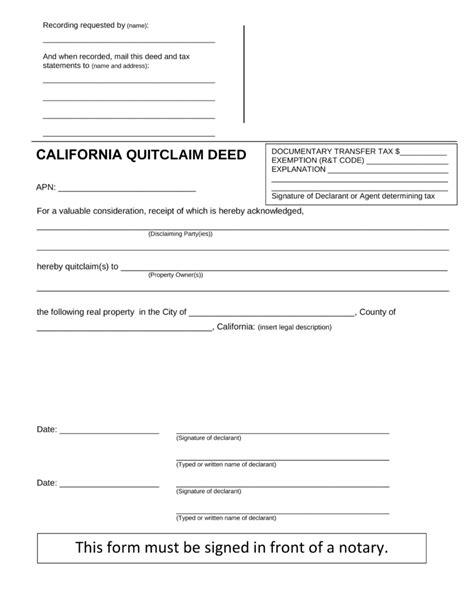printable quit claim deed indiana quick claim deed form indiana motavera com