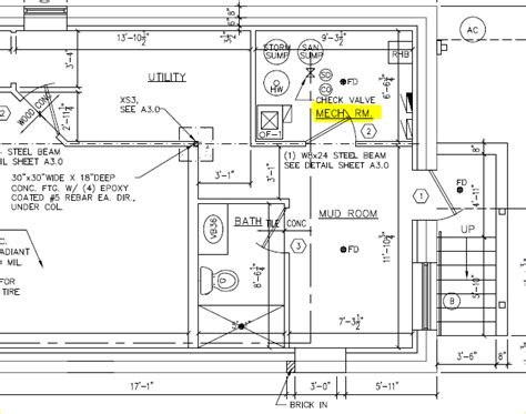 plan a room layout mechanical room layout two flat remade