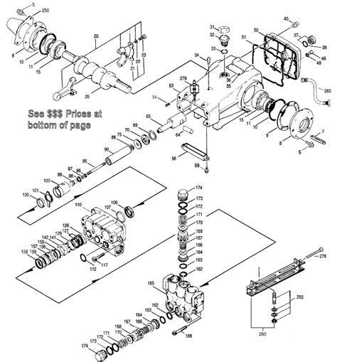 cat pumps parts diagrams parts for cat model 3535
