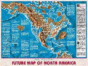 us navy map of flooded future america us navy map of future america possible maps of the