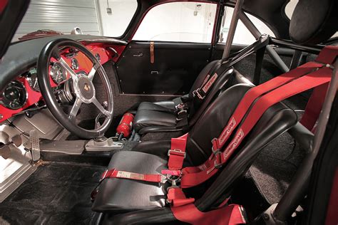 outlaw porsche interior 1965 356 sc outlaw coupe street race sloan cars