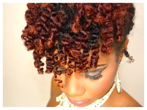 4c hair styles for semi formal event homecoming hair style bantu knot out updo hair tutorial